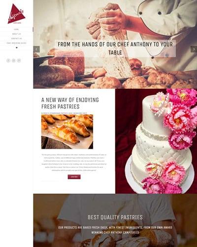 Pastry Web Design