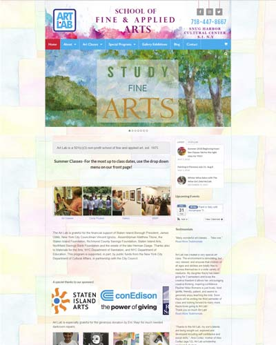 artistic web design
