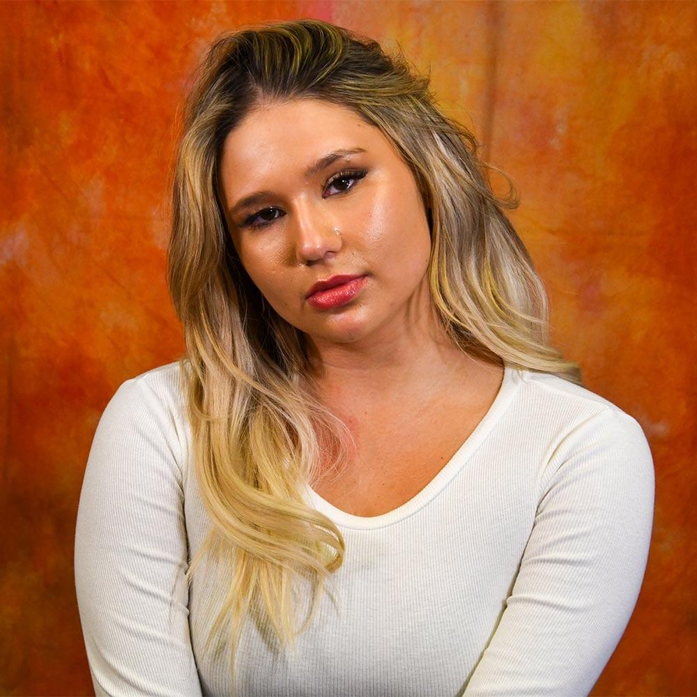 Christina headshot model