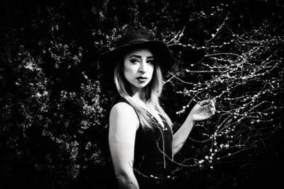 lydia dramatic black and white