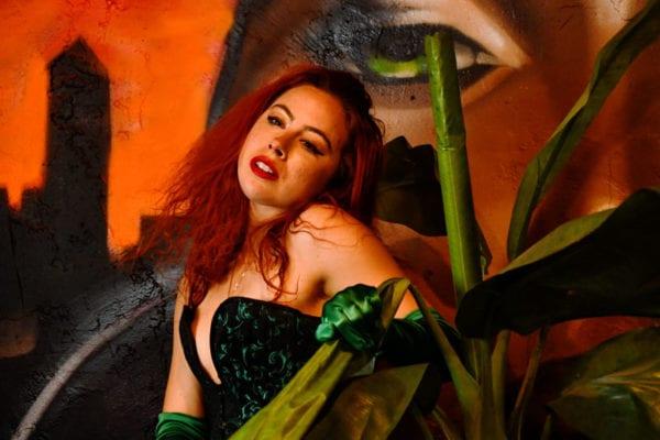 Aubrey - redhead model in cosplay