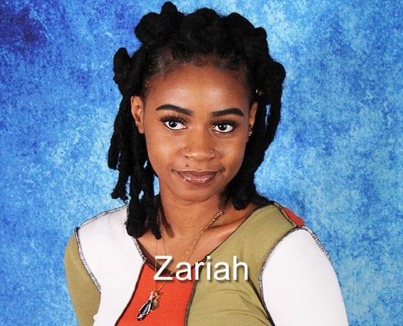 Model Portfolio - Zariah